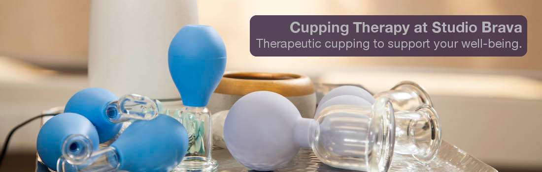 Cupping Therapy at Studio Brava Physical Therapy & Wellness